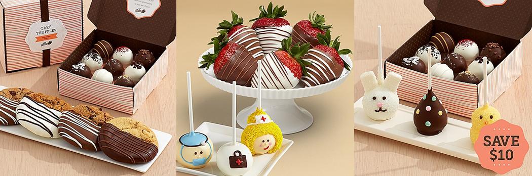 caketrufflesandswizzledstrawberries-image