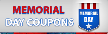 Memorial Day Coupons